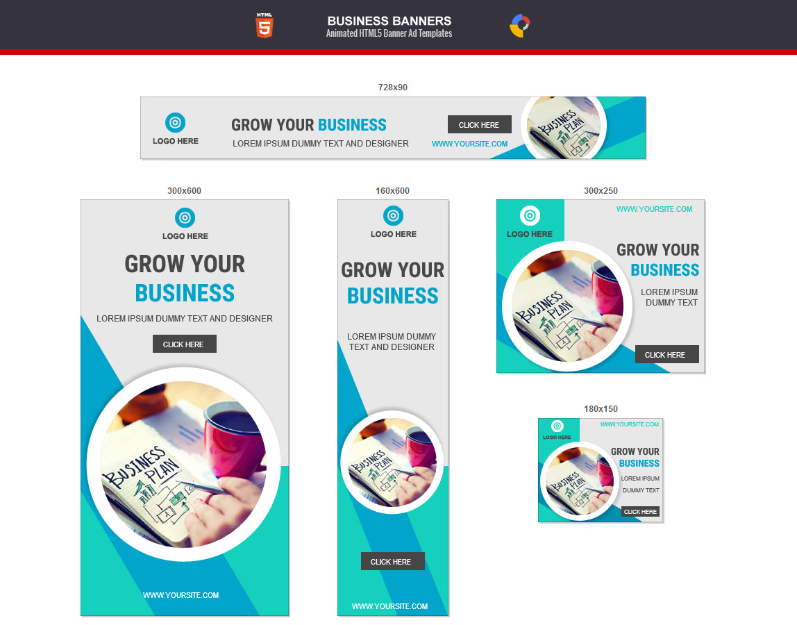 Html24 Animated Banner Design  Sialkot Web Media Within Animated Banner Template